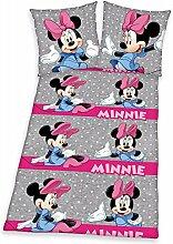 Herding 4477009050521 Bettwäsche Minnie Mouse,
