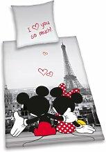 Herding 487809050412 Bettwäsche Mickey und Minnie
