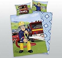 Herding Baby Wende Bettwäsche Feuerwehrmann Sam