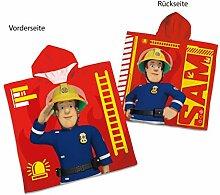 Herding Badeponcho Feuerwehrmann Sam, Größe: