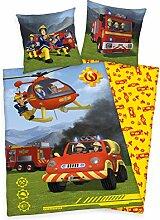 Herding Bettwäsche Renforcé Feuerwehrmann Sam,