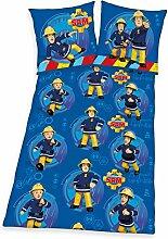 Herding Bettwäsche- Set Feuerwehrmann Sam,