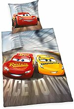 Herding Disney Cars 3 Bettwäsche-Set, Wendemotiv,