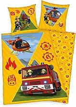 Herding Feuerwehrmann Sam Bettwäsche-Set,