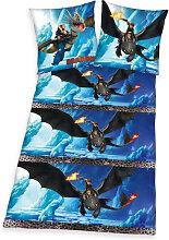 Herding Renforce Bettwäsche Dragons 135 x 200 cm