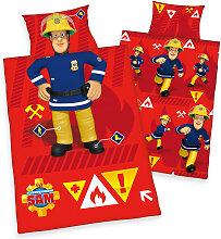 Herding Renforce Kinder-Bettwäsche Feuerwehrmann