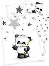 Herding Renforce Kinder-Bettwäsche Jana Panda 100