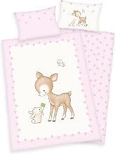 Herding Renforce Kinder-Bettwäsche Jana Reh 100 x