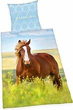 Herding Young Collection Bettwäsche-Set, Pferde