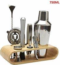 HEREB Cocktail-Shaker, Barzubehör, 9-teiliges