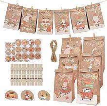 Herefun 24 Stück Papier Geschenktüten,