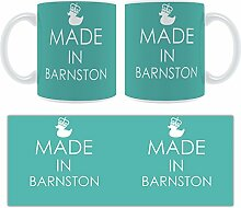 Hergestellt In Barnston Stylised Keramik