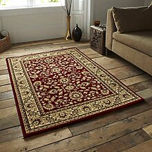 Heritage 0993A Teppich, Rot 120 x 170 cm ro