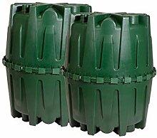 HERKULES - Gartenpaket 3200 L begehbar