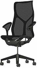 Herman Miller Cosm Chair mit Leaf-Armen (Graphite)