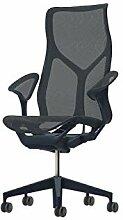 Herman Miller Cosm Chair mit Leaf-Armen (Nightfall)