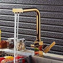 Hermanhao Küchenarmaturen Massivem Messing Swivel