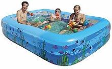 HEROTIGH Aufblasbare Pools Planschbecken Groß