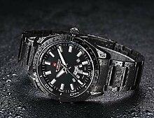 Herren Digital Quarz Uhr mit Plastic Armband Big