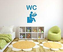 Herren WC Wandtattoo Format: 900x540 mm_g Wandbild, Wandaufkleber, Wandsticker Dekoration für Wohnzimmer, Schlafzimmer und Kinderzimmer