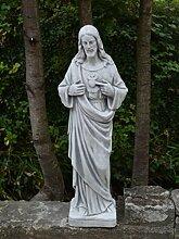 Herrliche große Statue Heilige Vater Jesus aus Steinguss frostfes