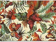 Herrliche Muster Teppich Pflanzen Floral Villas Teppiche Mode Wohnzimmer Schlafzimmer Teppiche