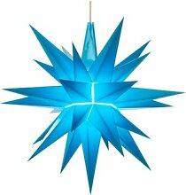 Herrnhuter Sterne A1e, blau, Weihnachtsstern