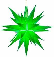 Herrnhuter Sterne A1e, grün, Weihnachtsstern