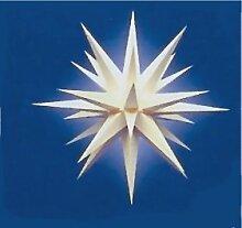 Herrnhuter Weihnachtsstern I6, weiss, 60 cm,