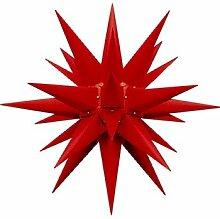 Herrnhuter Weihnachtsstern rot, 60cm