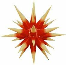 Herrnhuter Weihnachtsstern roter Kern m. gelben