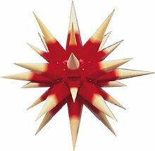 Herrnhuter Weihnachtsstern roter Kern m. gelbes