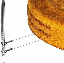 HerSo Tools Tortenbodenschneider aus Edelstahl mit
