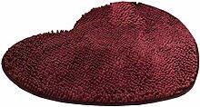 Herz Badteppich Teppich Soft Shag Küche Teppich