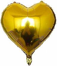 Herz Folien Bollons | 10pcs / lot 18 Zoll