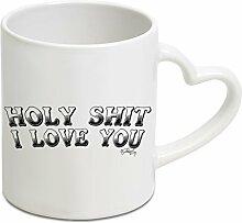 Herz Griff Becher–Funny Tassen, für
