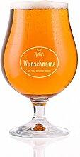 Herz & Heim® Berliner Biertulpe 400 ml mit Gravur