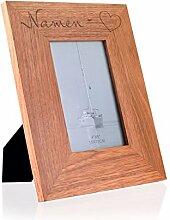 Herz & Heim® Bilderrahmen 10x15 mit Gravur zur