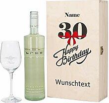Herz & Heim® Bree Wein-Geschenk mit graviertem