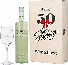 Herz & Heim® Bree Wein-Präsent zum 50.