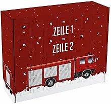 Herz & Heim® Feuerwehr Adventskalender zum