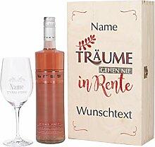 Herz & Heim® Geschenkset zur Rente mit BREE Wein