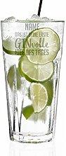 Herz & Heim® Gin & Tonic Longdrink Glas mit