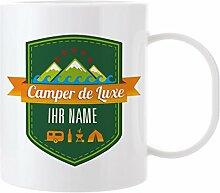 Herz & Heim® Kaffeetasse - Camper de Luxe - aus