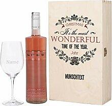 Herz & Heim® Wein Geschenkset zu Weihnachten mit