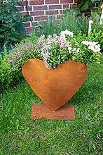 Herz zum Bepflanzen Rost Gartendeko Edelros