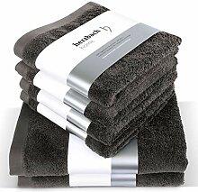 herzbach home Handtuch Set Premium Qualität aus