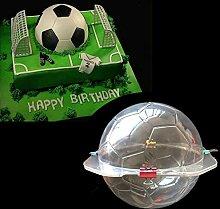 HESDEL Schokoladenform Kuchen Kuchen 3D Fußball