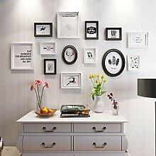 HETAO Kreativ Fotowand Massivholz Einfach Modern