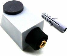 HETTICH - 1 Stück - Tür Stopper -Türstopper - Bodenstopper 56 x 30 x 30 - schraubbar